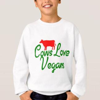 Cows Love Vegans Sweatshirt