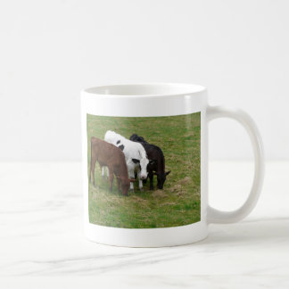 Cows Of All Colors Basic White Mug