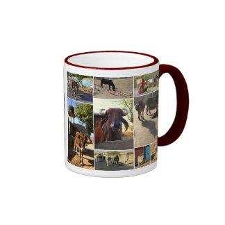 Cows of India Ringer Mug