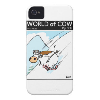 CowSkiing iPhone 4 Covers