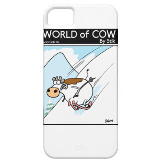 CowSkiing iPhone 5 Cover