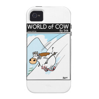 CowSkiing Vibe iPhone 4 Case