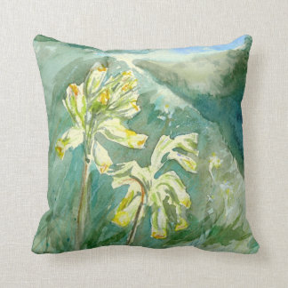 Cowslips by Alexandra Cook Cushions