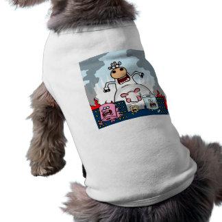COWZILLA vs Toiletroll Town Shirt