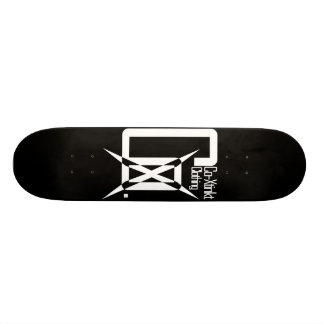 CoXtinkt Logo White Deck Skate Board Decks