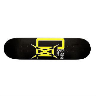 CoXtinkt Logo Yellow Deck Skateboard Deck