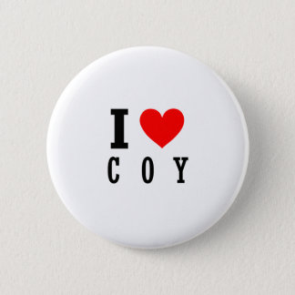 Coy, Alabama City Design 6 Cm Round Badge