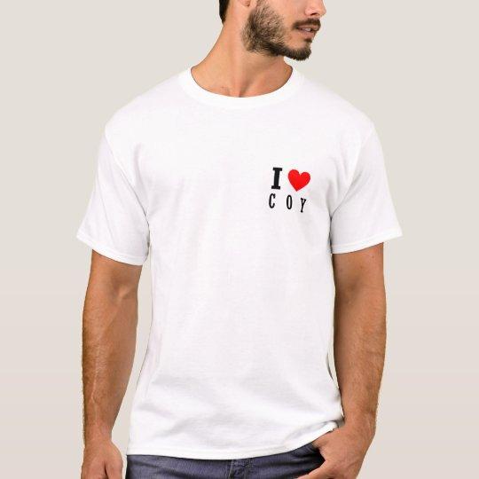 Coy, Alabama City Design T-Shirt