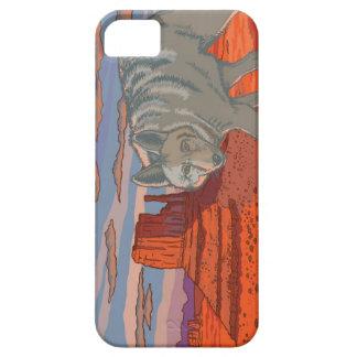 Coyote in Monument Valley, Arizona iPhone 5 Cases