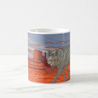 Coyote in Monument Valley, Arizona Coffee Mug