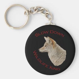 coyote key chain