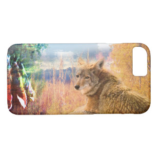 Coyote Landscapes North American Park Outdoor Dog iPhone 8/7 Case
