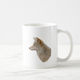 Coyote Profile Basic White Mug