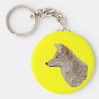 Coyote Profile Key Chains