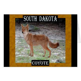 Coyote (South Dakota) Greeting Card