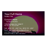 Coyote, Southwest, special effect Pack Of Standard Business Cards