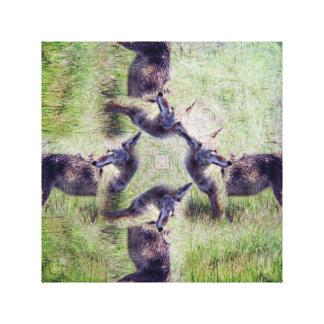 Coyote Spirit Canvas Print