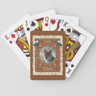 Coyote  -Trickster- Classic Playing Cards