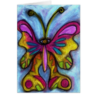 CoZmic Butterfly Greeting Card