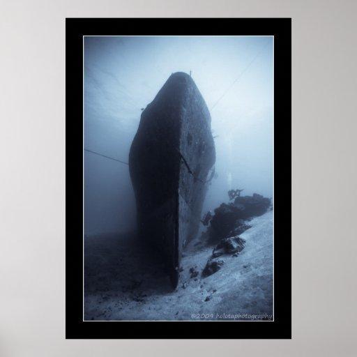 Cozumel 2009-11 Shipwreck Poster