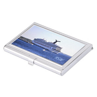 Cozumel Cruise Visitor Monogrammed Business Card Holder