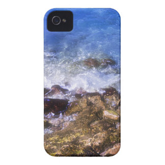 Cozumel Dock Rocks iPhone 4 Cases