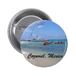 Cozumel, Mexico 6 Cm Round Badge
