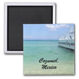 Cozumel, Mexico Square Magnet