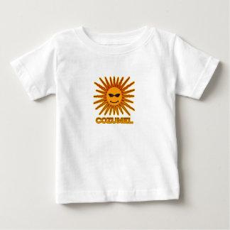 Cozumel Mexico Sun Logo Baby T-Shirt