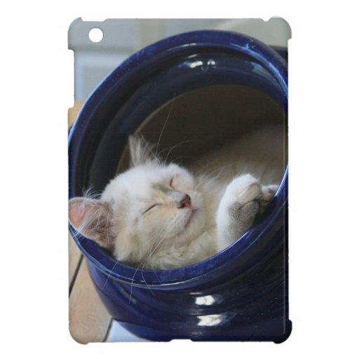Cozy Cat iPad Mini Cover