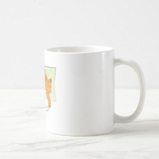 Cozy Cat Basic White Mug