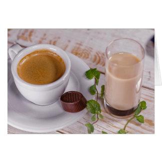 Cozy Coffee Greeting Card
