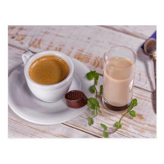 Cozy Coffee Postcard