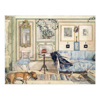 Cozy Corner by Carl Larsson Postcards