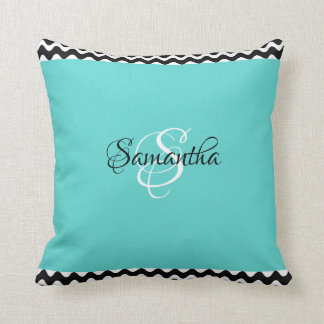 Cozy & Customized with Your Name & Initial - Cushion