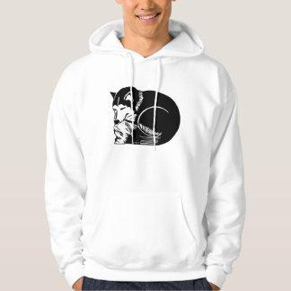 Cozy Husky Men's Hooded Sweatshirt
