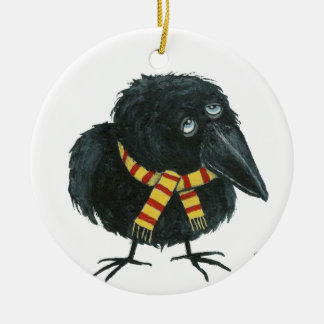 Cozy Lil Crow Ornament