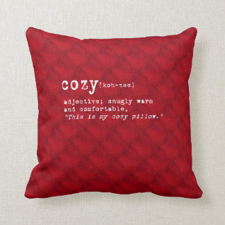 Cozy Pillow - Red