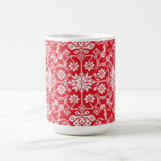Cozy Red Holiday Mug