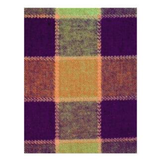 Cozy Warm Plaid Pattern 21.5 Cm X 28 Cm Flyer