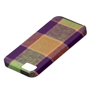 Cozy Warm Plaid Pattern iPhone 5 Case