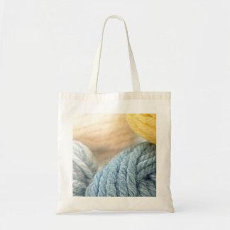 Cozy Yarn Budget Tote Bag