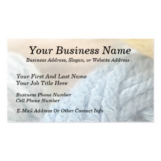 Cozy Yarn Business Card Template