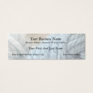 Cozy Yarn Mini Business Card