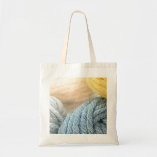 Cozy Yarn Tote Bag