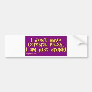 cp_drunk bumper sticker