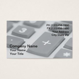 CPA Business Cards
