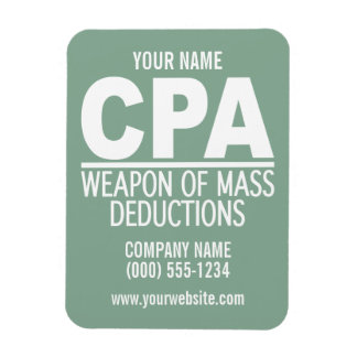 CPA custom color magnets