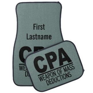 CPA custom color & name floor mats