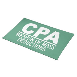 CPA custom color placemats